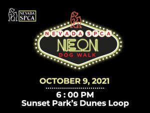 Nevada SPCA Neon Dog Walk